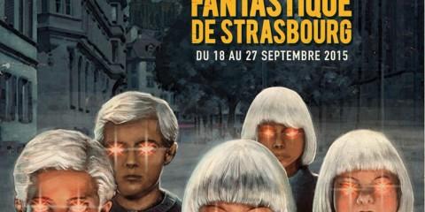 Affiche du festival européen du film fantastique de strasbourg 2015