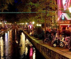 Une boite de nuit à Amsterdam